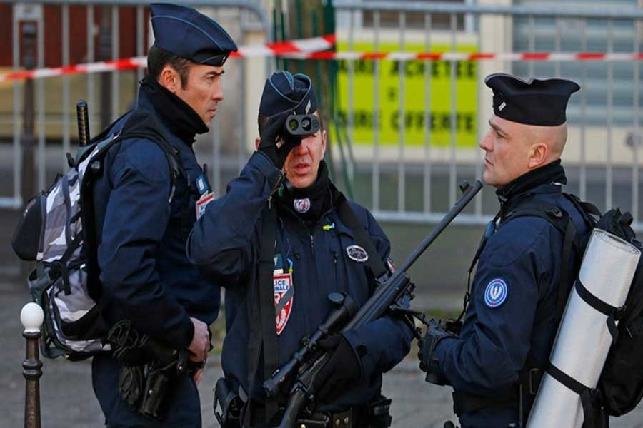 Attacks in France in 2017 focus on security forces