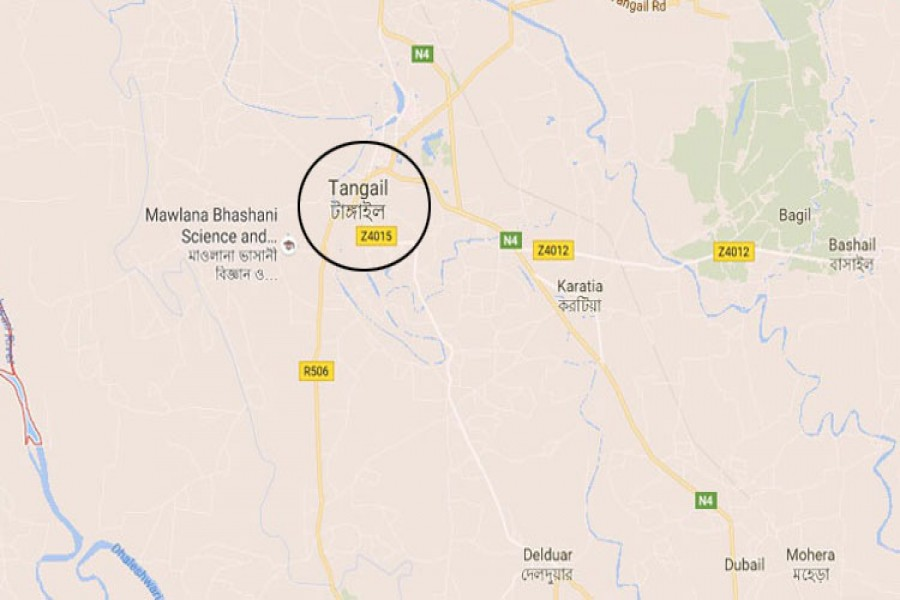 Couple electrocuted in Tangail