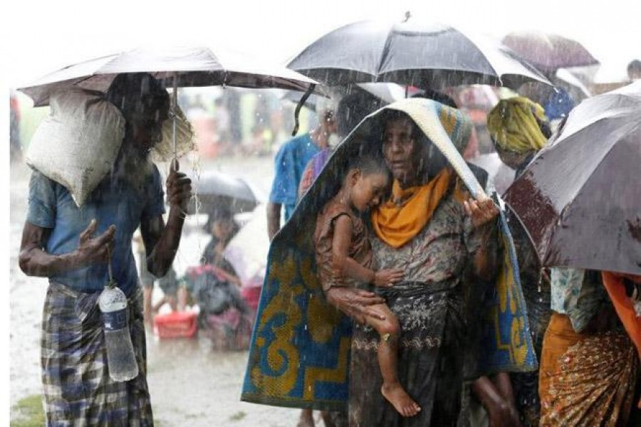 38,000 Rohingyas cross into Bangladesh in a week: UN