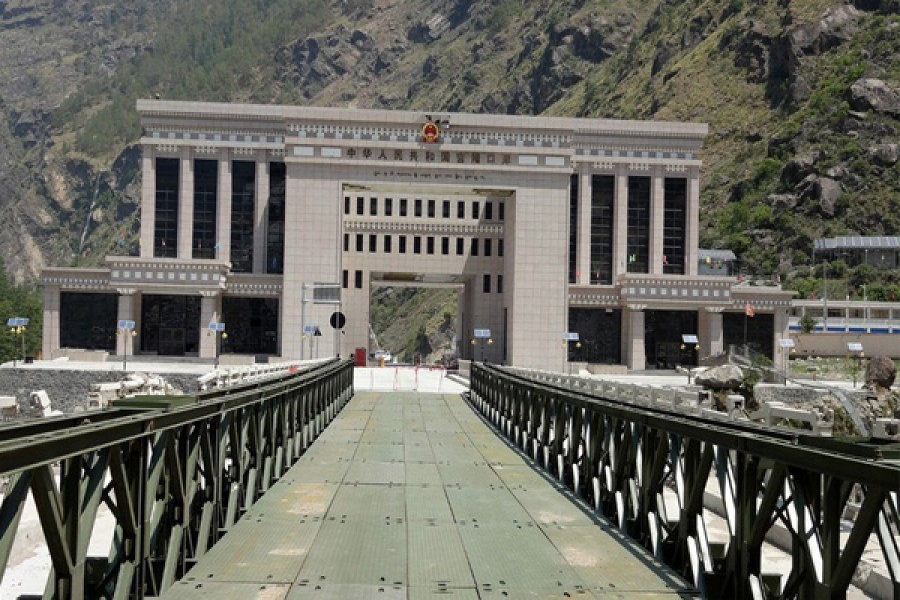 Upgraded China-Nepal border to boost trade, tourism