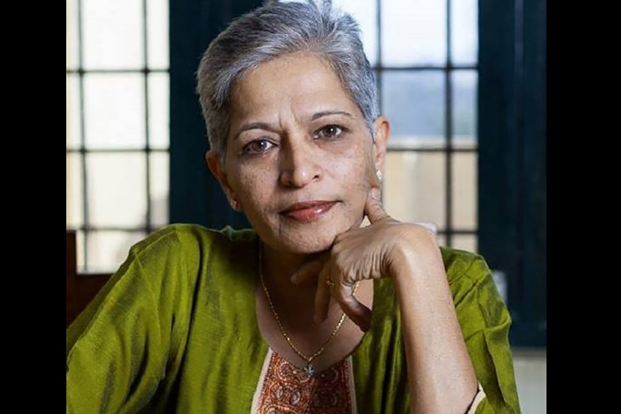 Gauri Lankesh was known as a fearless and outspoken journalist. - Photo collected