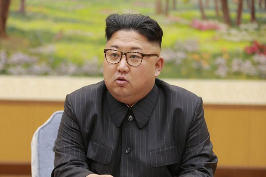 Kim Jong-un's personal assets are being targeted by the US draft resolution. - Reuters photo
