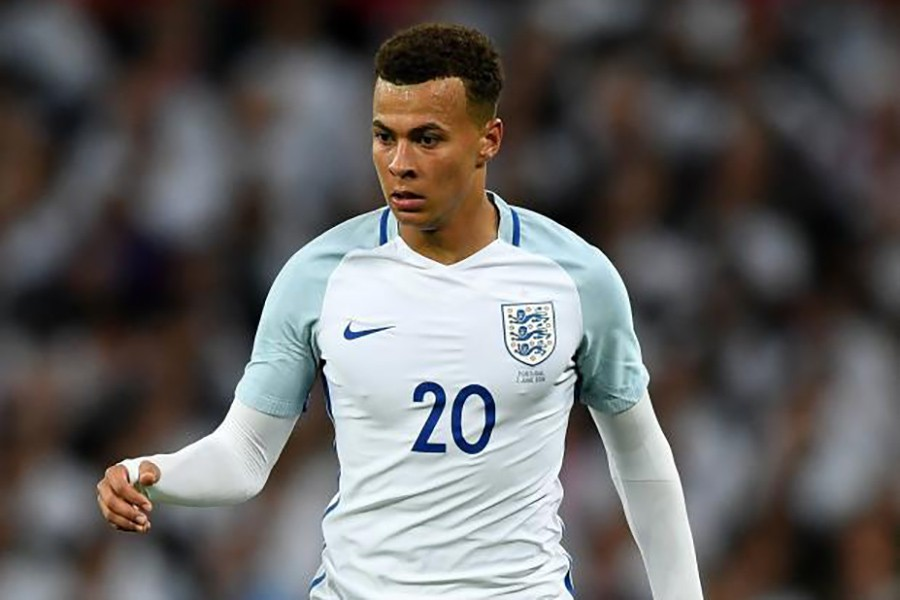 """However, the 21-year-old said it was a """"joke with good friend"""" Kyle Walker, who was his team-mate at Spurs. - Internet photo"""
