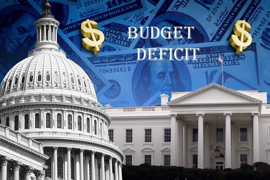 US budget deficit up to $107.7b in Aug