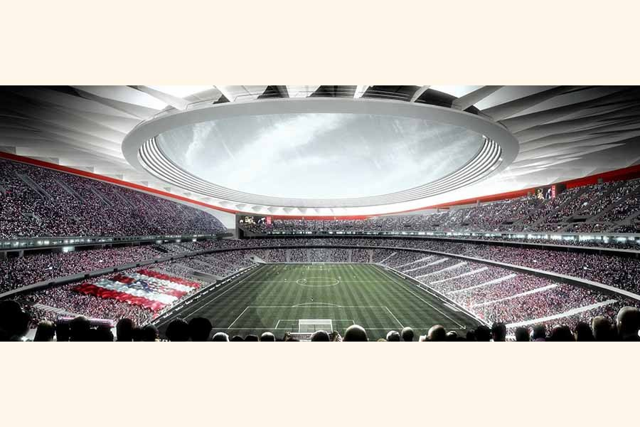 Atletico Madrid's new stadium to host 2019 CL final