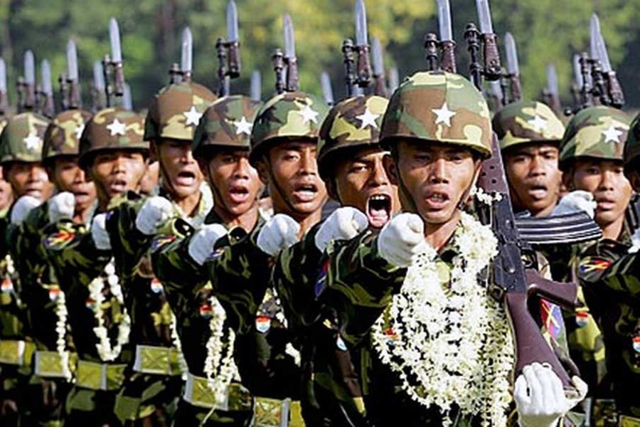 India ponders arms supply to Myanmar