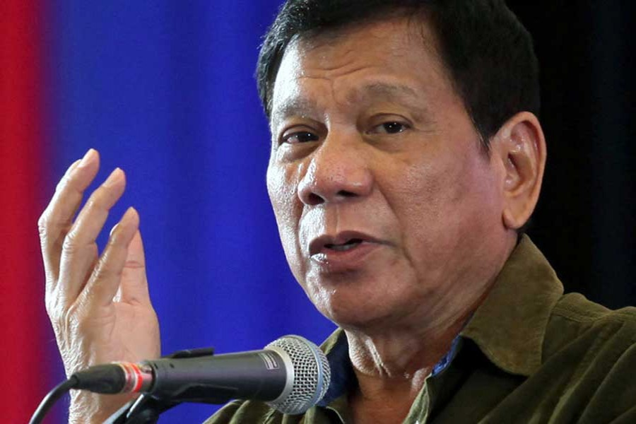 Philippines president threatens to kill own son over drugs