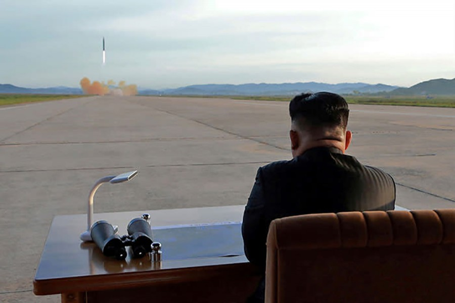 The tougher stance follows North Korea's latest nuclear test this month. - Reuters photo