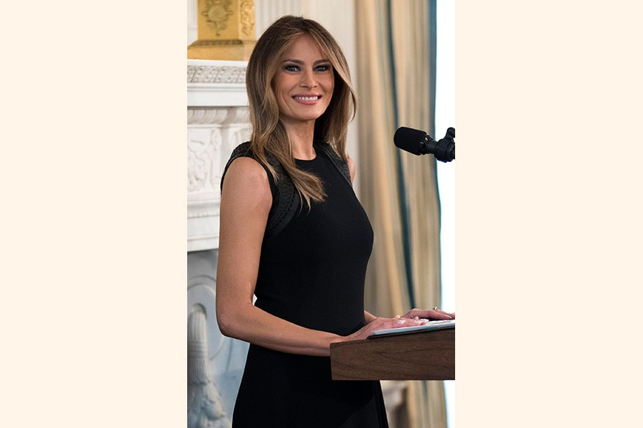 Melania set to embark on first solo trip outside US