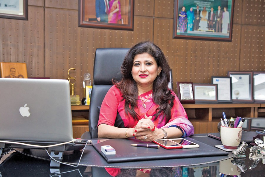 Ms. Farzana Chowdhury talked to the FE in an interview.