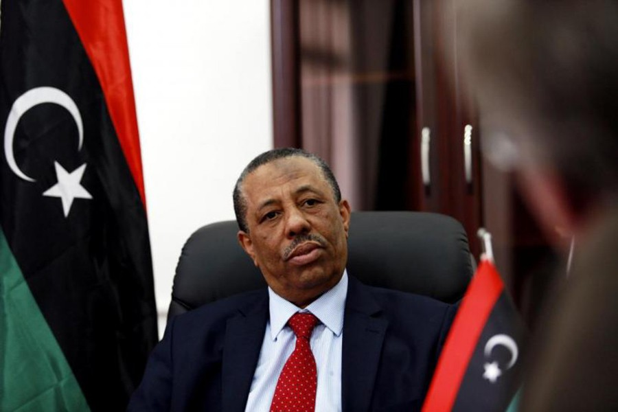 The Libyan interim government, headed by Abdullah Thani, has been appointed by the eastern House of Representatives. - Reuters photo