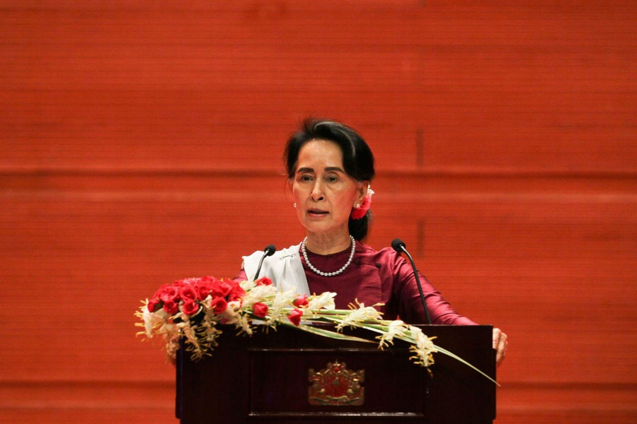 Suu Kyi's speech: A cover for the genocidal atrocities