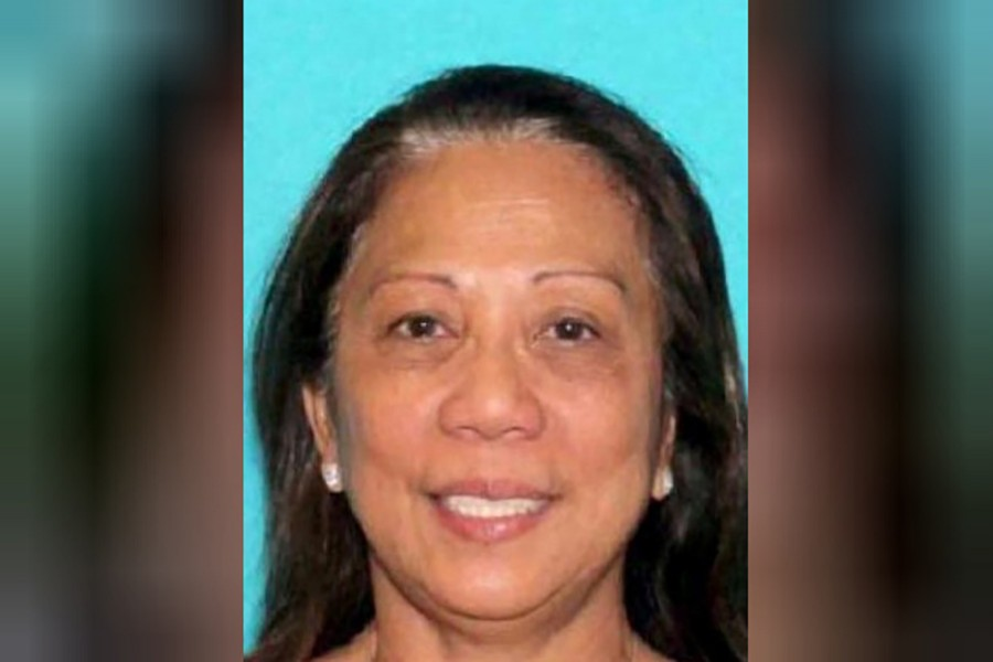 Marilou Danley, who arrived in the Philippines in September, is now wanted in the US for questioning. Courtesy: Reuters