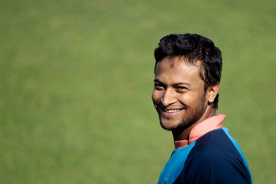 The MCC informed Shakib of his official appointment to the World Cricket Committee through a letter dated Sept 18. - AP file photo