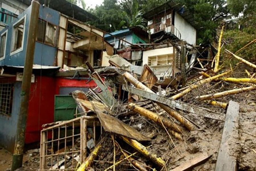 Some 5,000 people are sleeping in temporary shelters in Costa Rica. - Reutes photo
