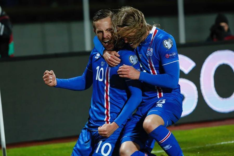 Iceland becomes the smallest country ever to reach World Cup football