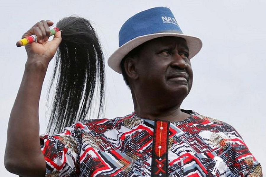 Raila Odinga won't stand in October's poll.