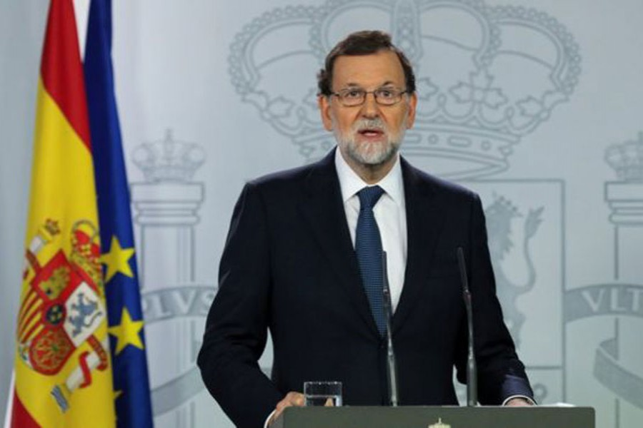 Spain's Prime Minister Mariano Rajoy said he wanted clarity for citizens.