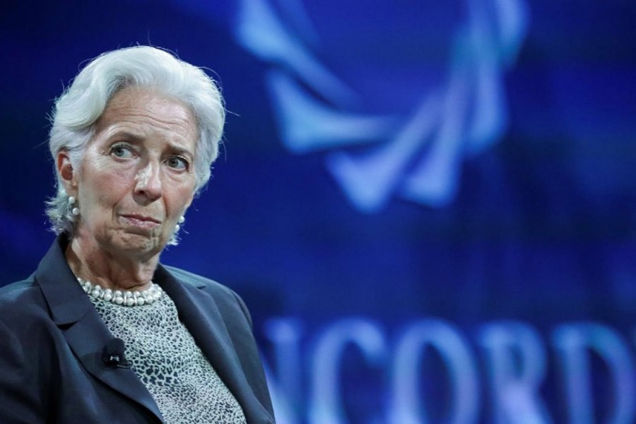 Christine Lagarde, Managing Director of the IMF, listens a question during the Concordia Summit in Manhattan, New York, US, September 19, 2017. - Reuters photo