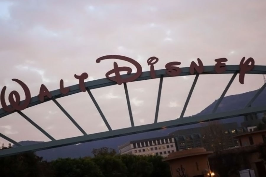 The Walt Disney Co is pictured in Burbank, California (Reuters photo)
