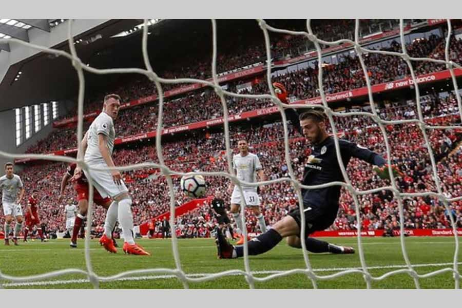 Man Utd frustrates Liverpool at Anfield