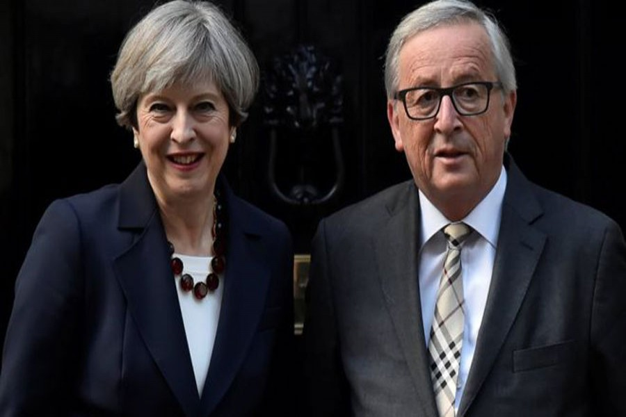 The PM will meet with Jean-Claude Juncker, pictured, as well as Michel Barnier. Reuters Photo