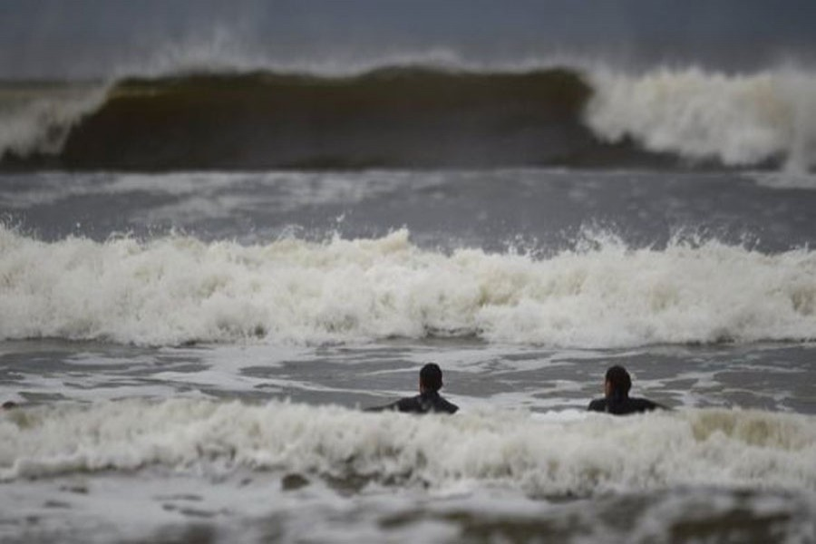 The Republic of Ireland's Met Eireann has issued a red wind warning across the country. Reuters photo