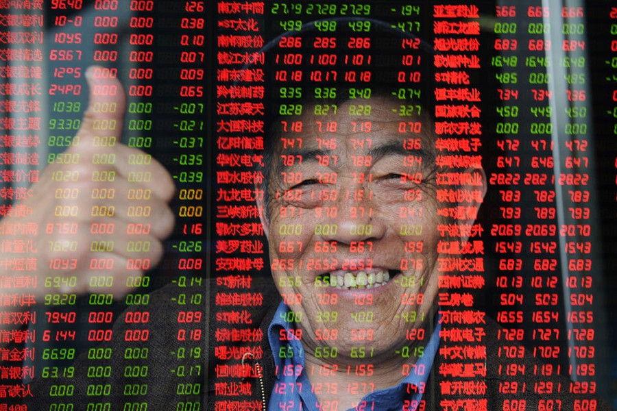 China's blue-chip stocks reaches 26-month high