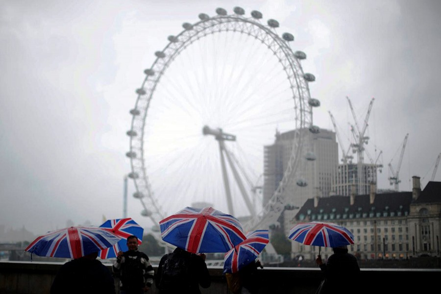 UK economy grows by 0.4pc in Q3