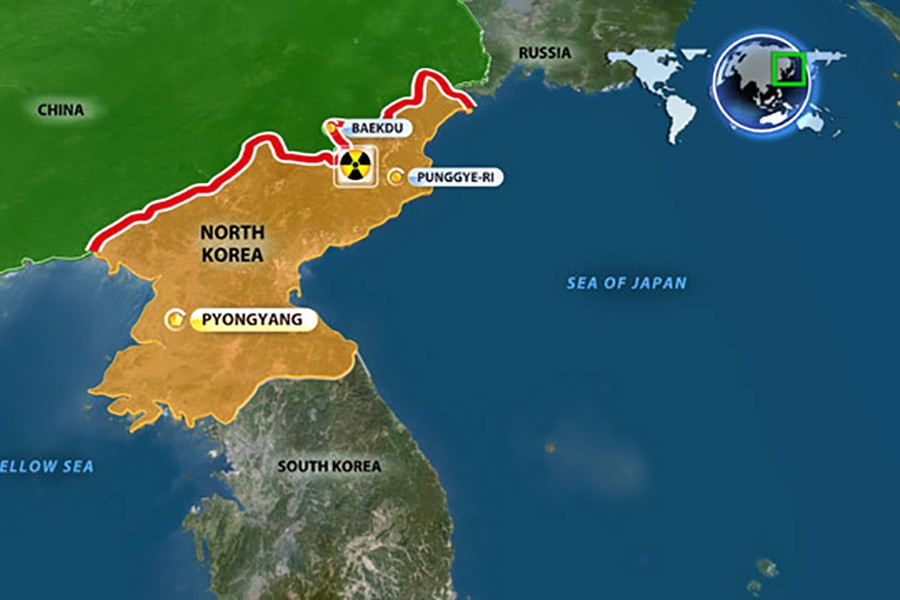 'Hundreds dead in DPRK nuclear base collapse'