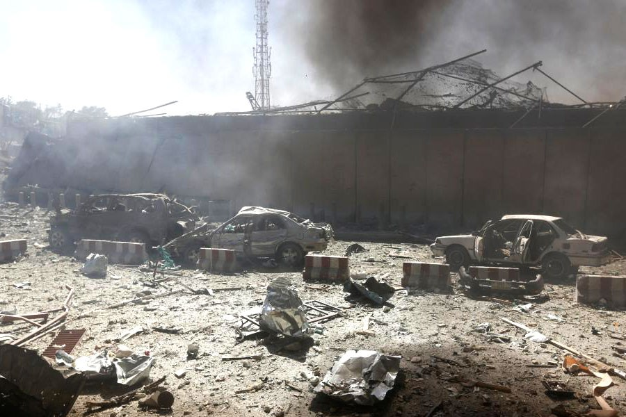 Damaged cars are seen after a blast at the site of the incident in Kabul, Afghanistan May 31, 2017 (Reuters file photo used for representational purpose)