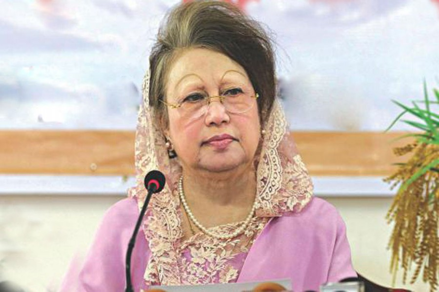 False cases to make me ineligible: Khaleda