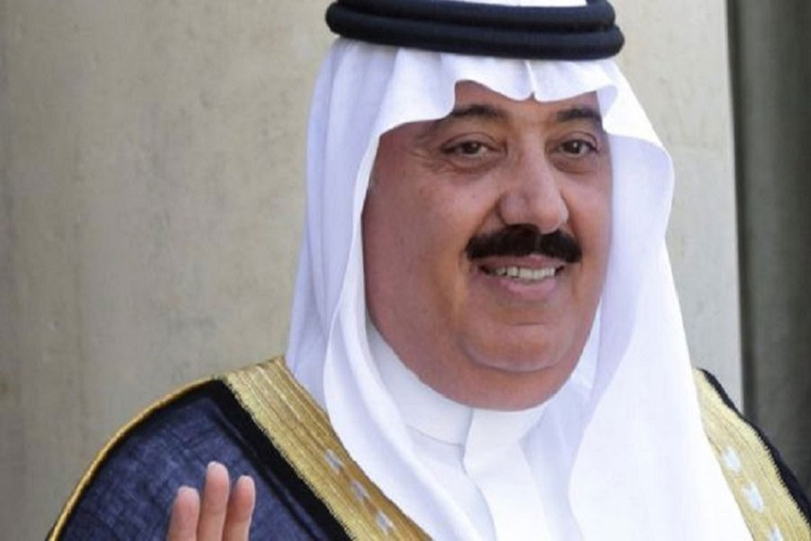 Prince Miteb bin Abdullah has been replaced as head of the powerful National Guard. Reuters
