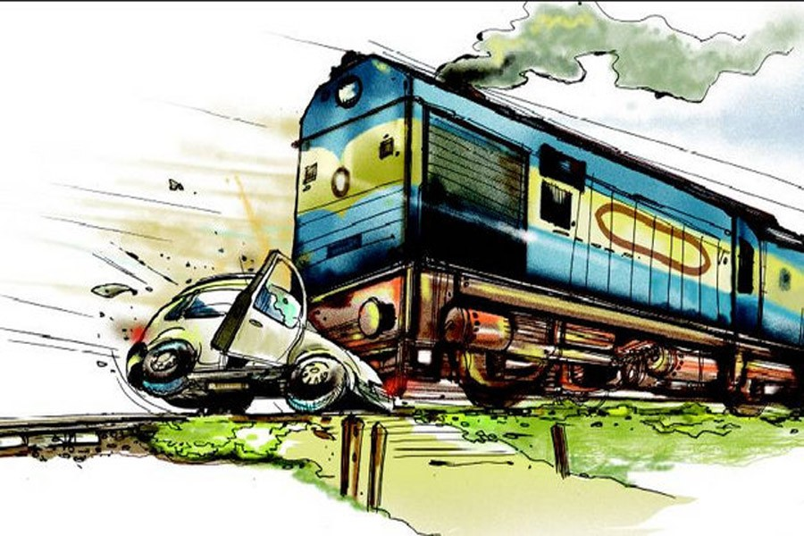 Accidents at railway crossings