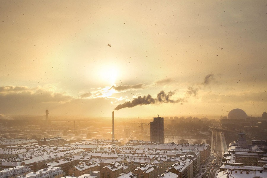 'Rich nations need to slash carbon emission'