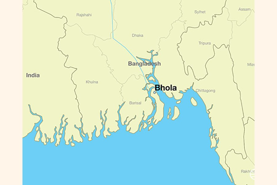 Fire guts 10 shops in Bhola