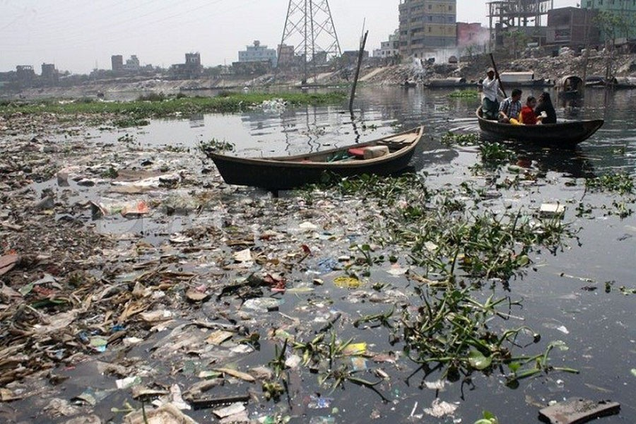 Pollution of rivers and its effects
