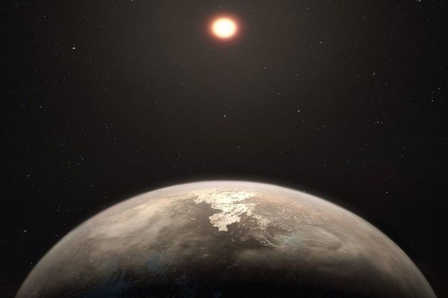Ross 128 b might be a target in the search for extra-terrestrial life.  – Photo: BBC