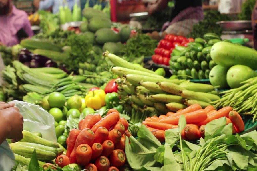 Record 4.96m tonnes of vegetables produced in FY17: BBS