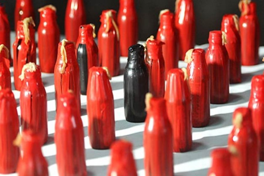 Police recovers 24 crude bombs in Savar