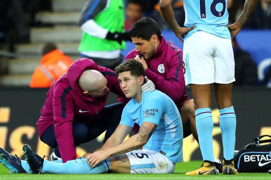 The centre-back is likely to be sidelined for a month and a half. - Reuters photo