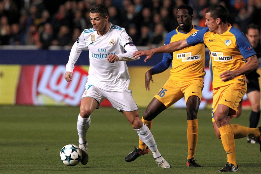 Ronaldo has scored 18 in his last 10 appearances in the competition - and 113 in total, 16 ahead of Barcelona forward Lionel Messi. - Reuters photo