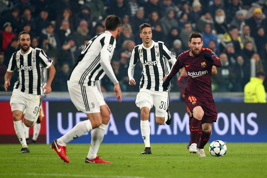 Barcelona, who played their second successive goalless draw in the group, have 11 points and are guaranteed to finish top. - Reuters photo