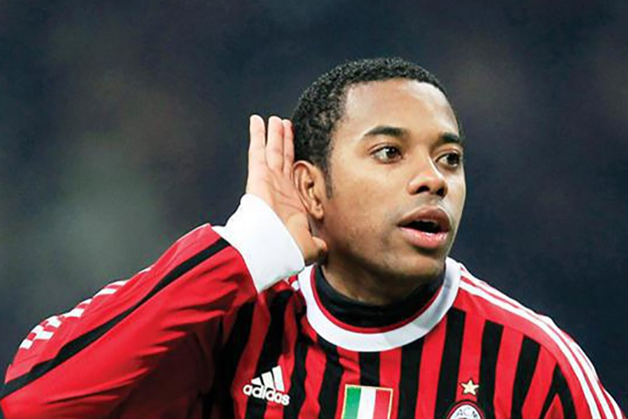 The forward, who left AC Milan in 2015 after five years, was not in court but pleaded not guilty via his lawyer. - Reuters file photo