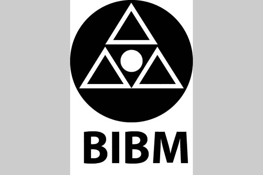 Bangladesh Institute of Bank Management (BIBM) has been organising Annual Banking Conference since 2012. Photo shows BIBM logo.