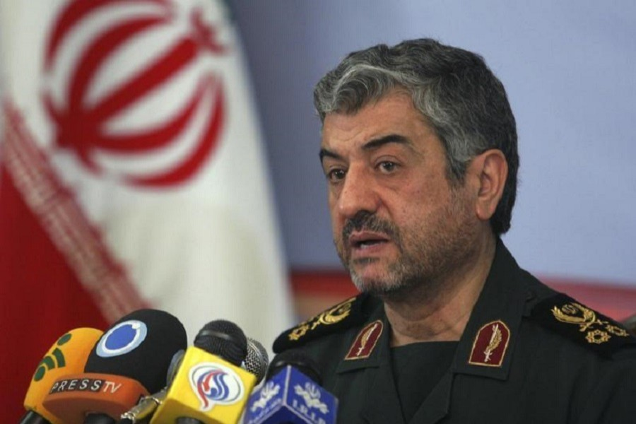 Mohammad Ali Jafari, commander of the Islamic Revolutionary Guard Corp, attends a news conference in Tehran February 7, 2011. Reuters/Files