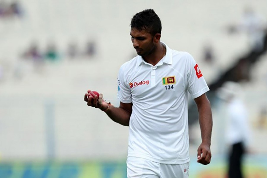 In addition to the fine, three demerit points have been added to Shanaka's disciplinary record. - BCCI photo