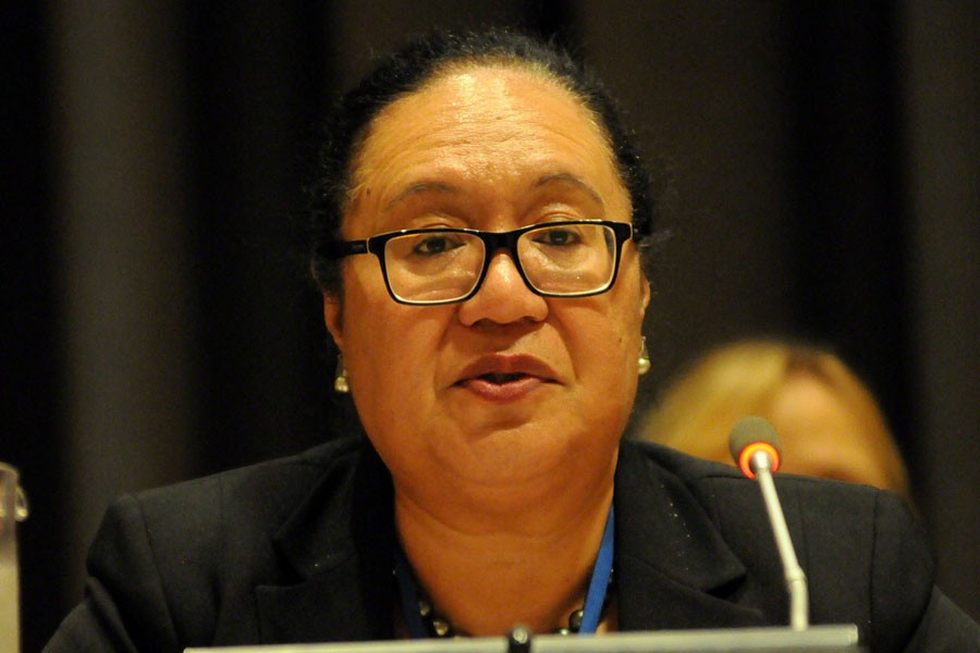Fekitamoeloa Utoikamanu, the United Nations Under-Secretary-General for the LDCs. File photo (Collected)