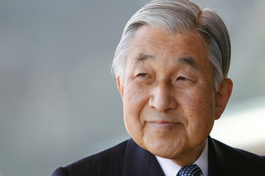 Japan's Emperor Akihito is seen at the Imperial Palace in Tokyo February 23, 2011, photo: REUTERS