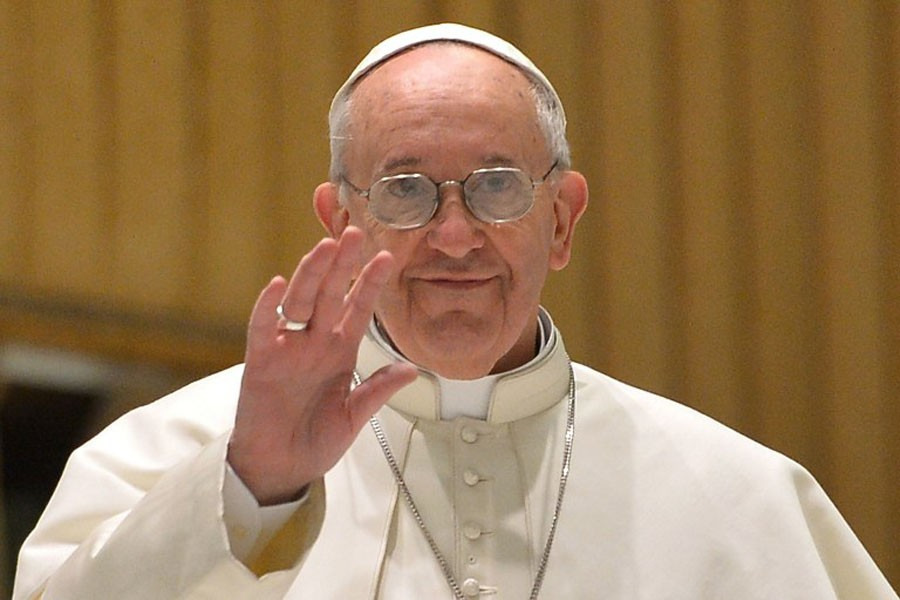 Pope brings message of love